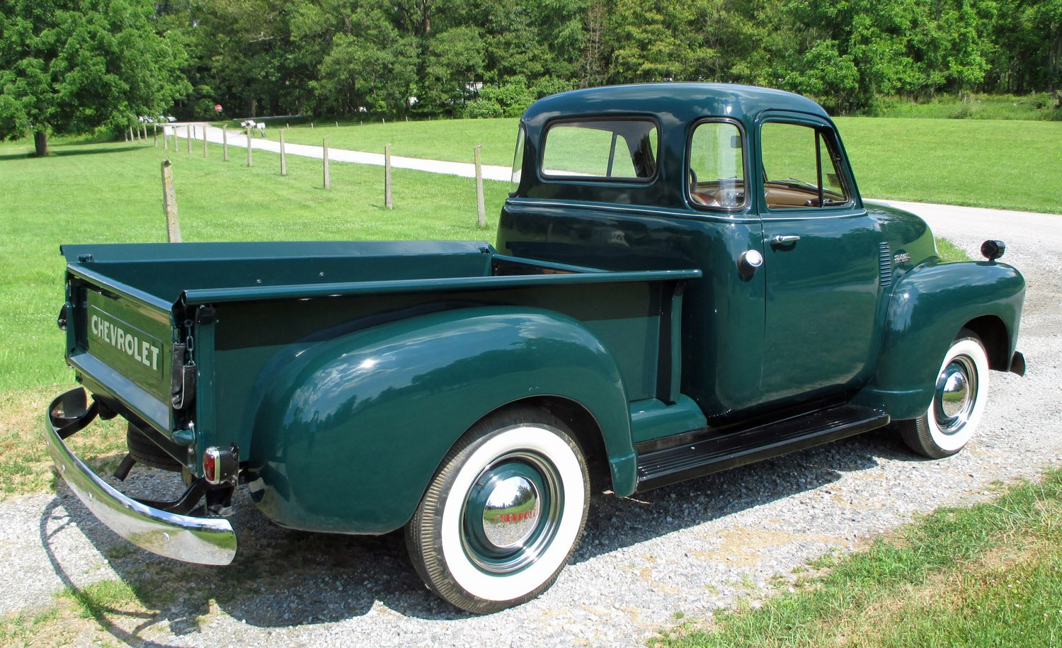 1952 Chevrolet 5-Window Pickup