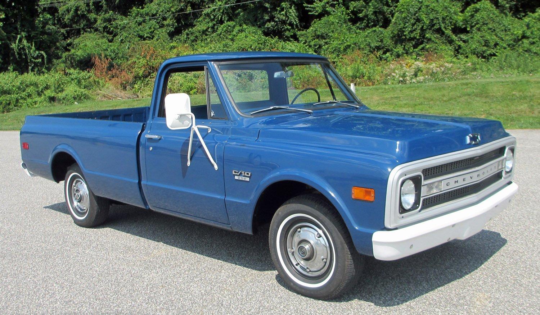 1969 Chevrolet C10 Connors Motorcar Company