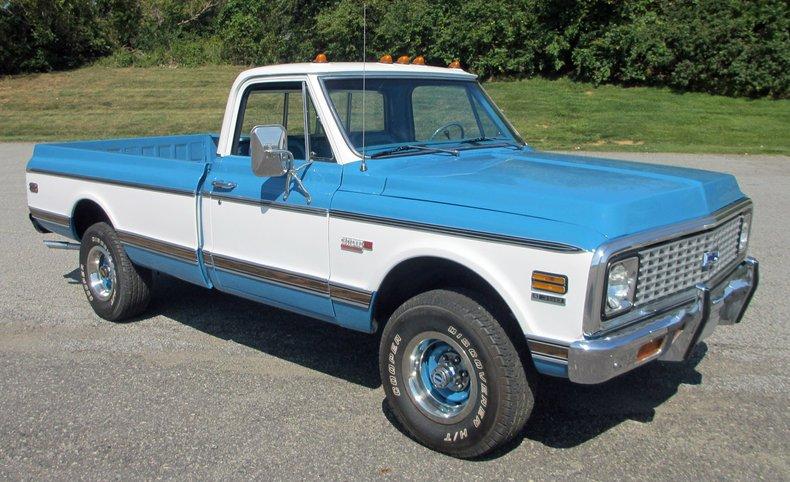 1972 chevrolet 1 2 ton pickup