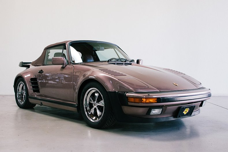 1987 porsche 911 930 turbo slant nose
