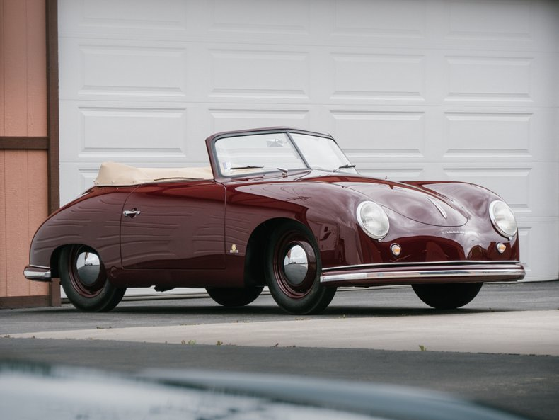 1951 porsche 356 split window