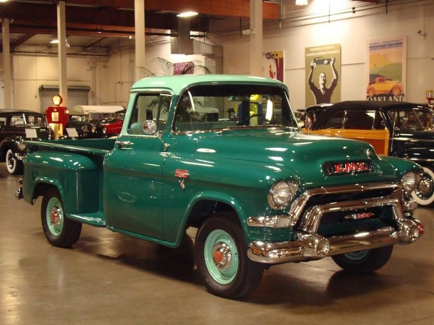 1956 gmc deluxe pickup