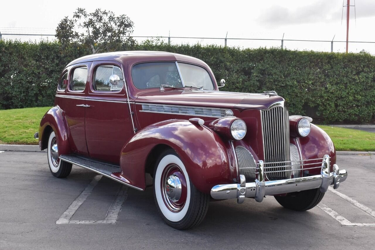 1940 packard 120 sedan