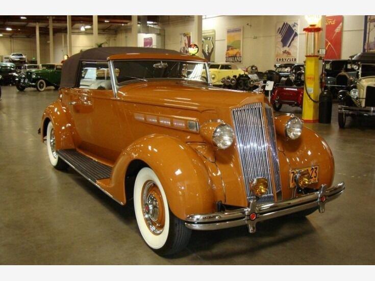 1936 packard model 120