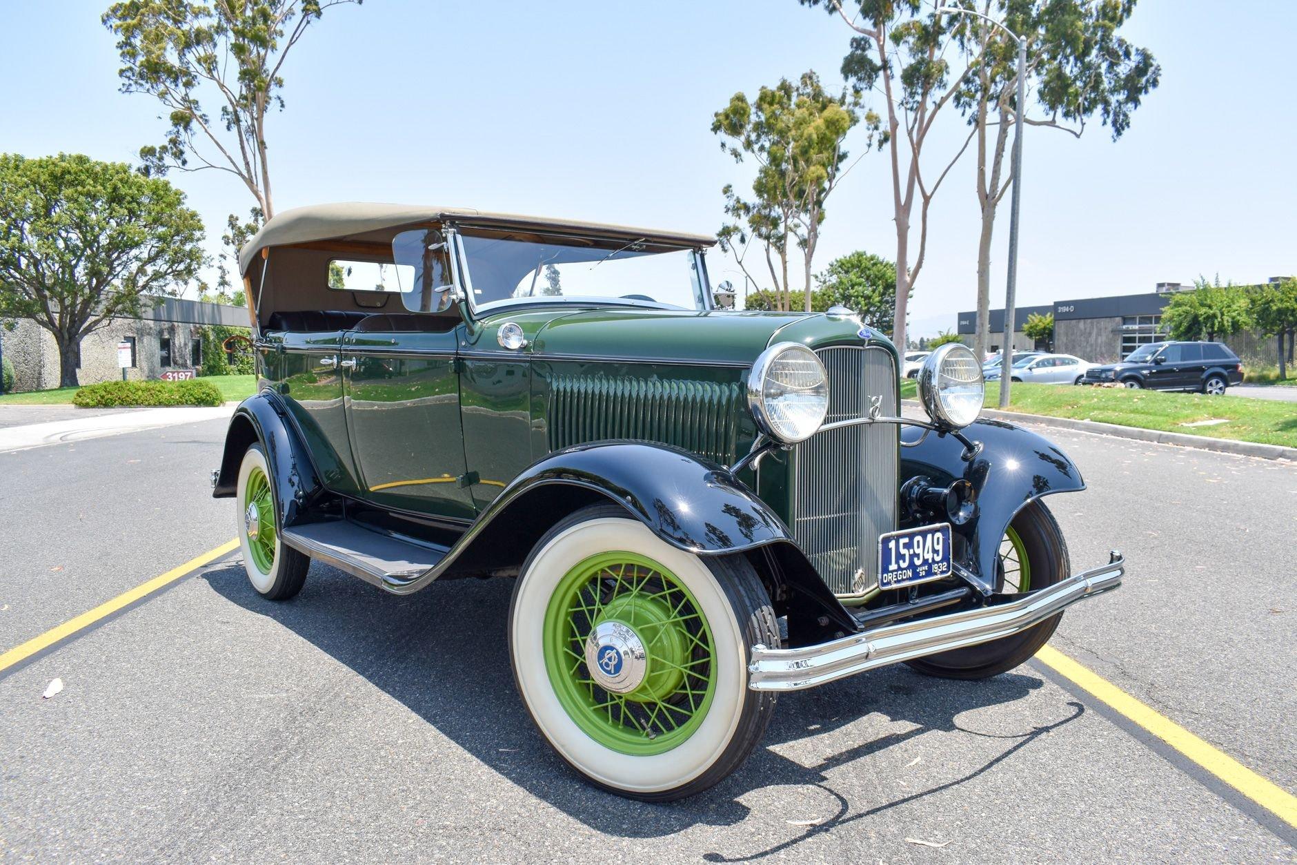 1932 ford model 18 phaeton