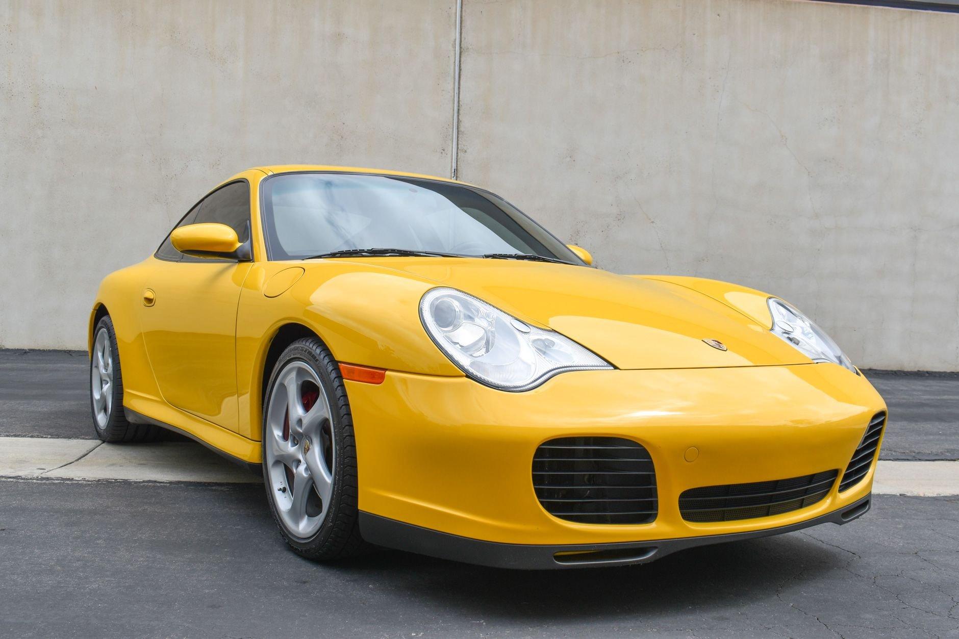 2004 porsche 911 carrera 4s 6 speed