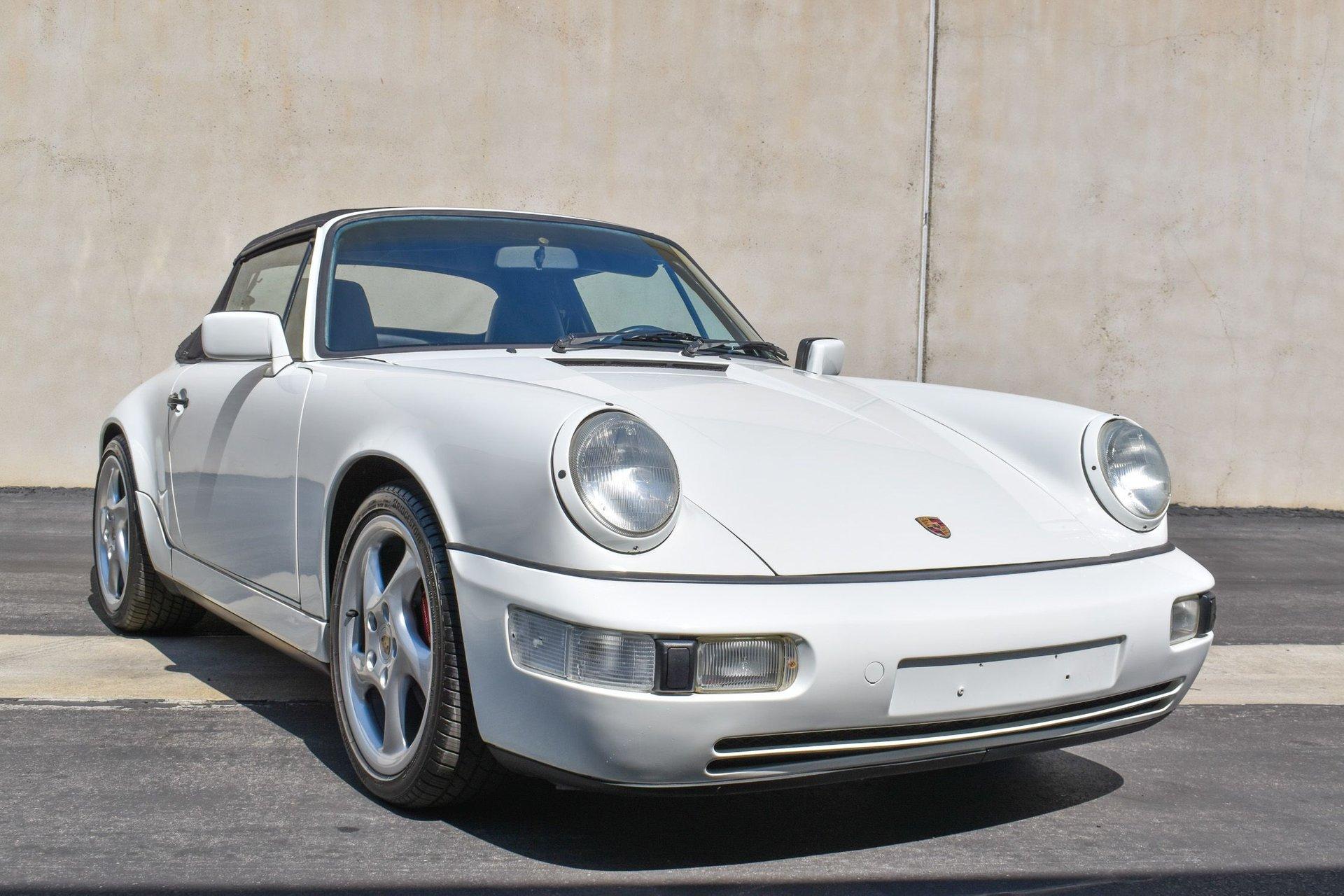 1990 porsche 911 carrera cabriolet