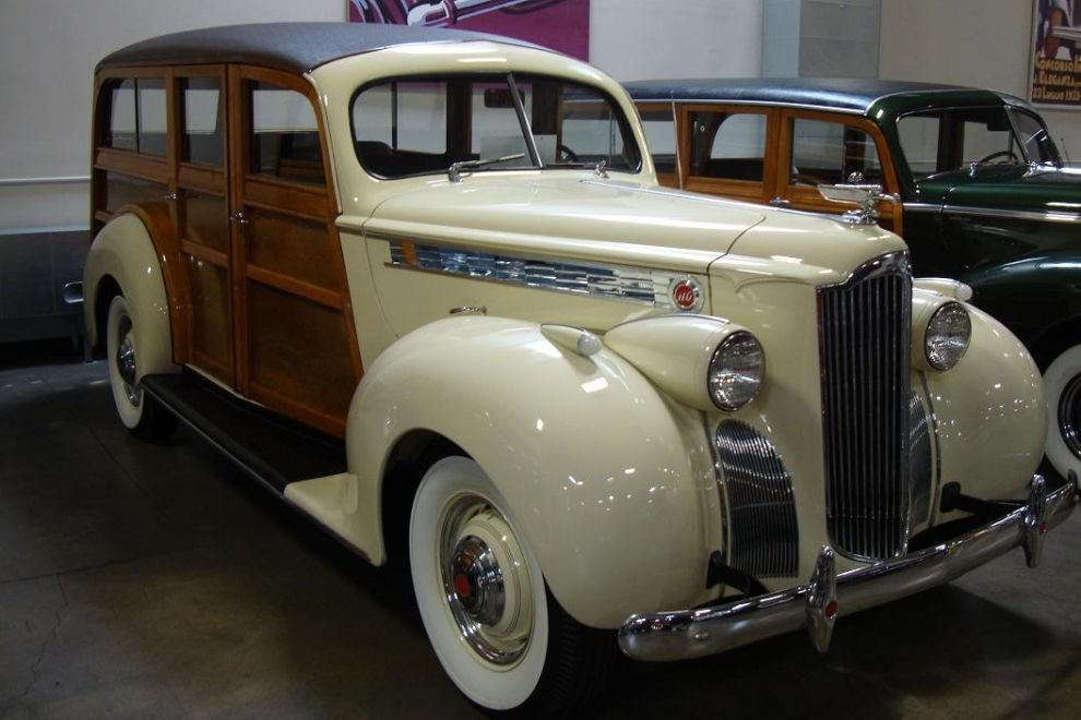 1940 packard 110 station wagon