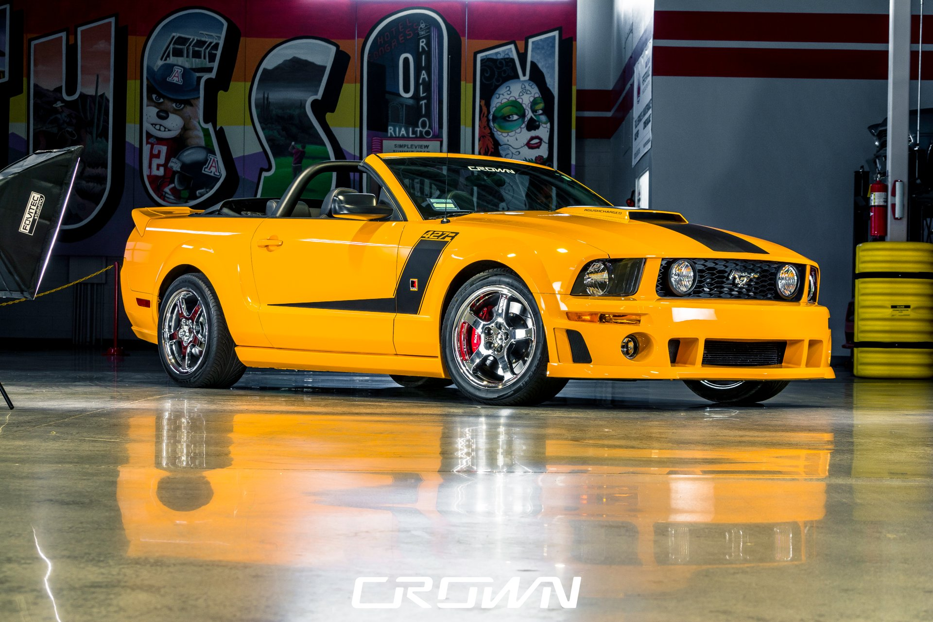 2007 ford mustang roush 427 r convertible