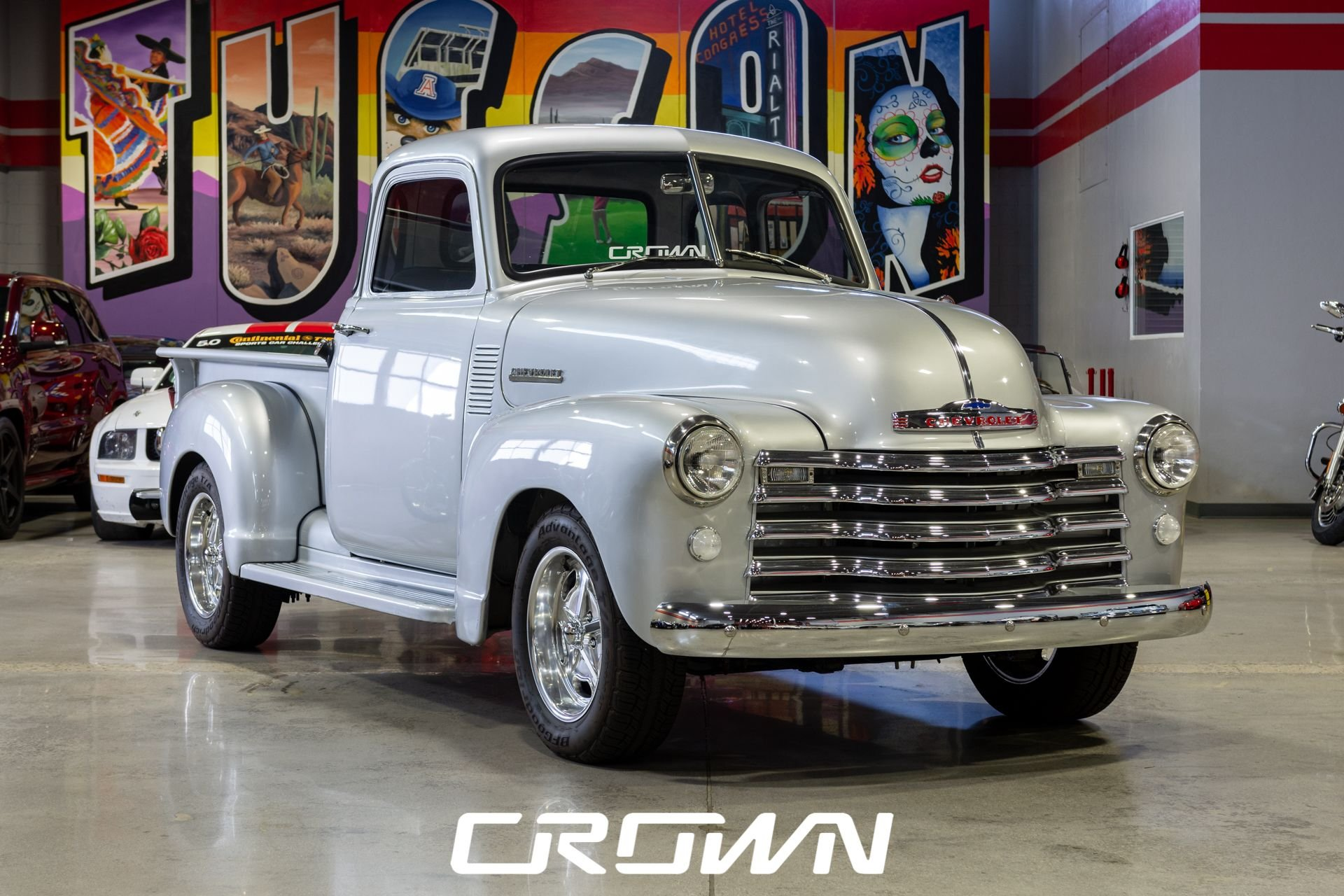 1953 chevrolet 5 window pickup