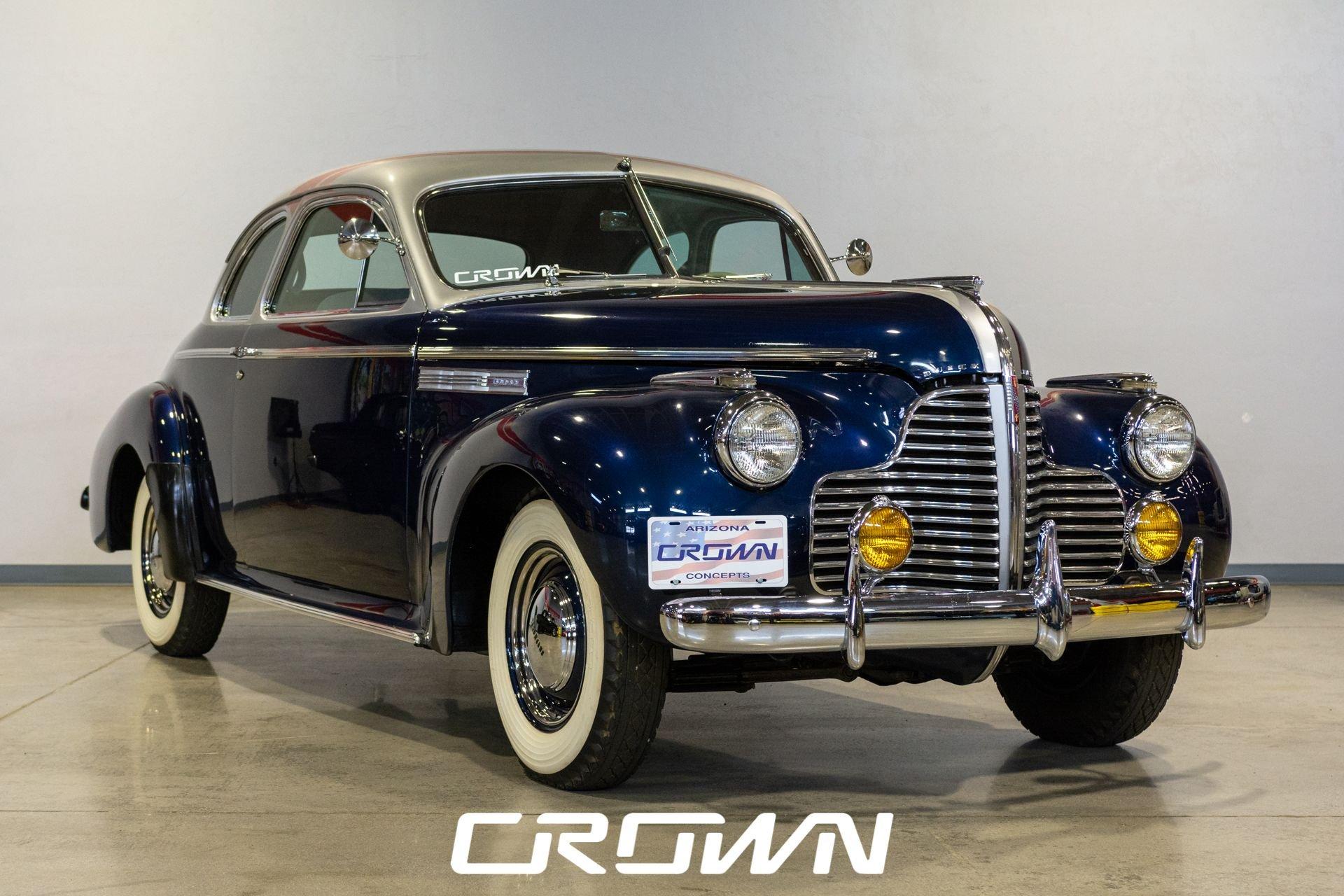 1940 buick 50 super 8