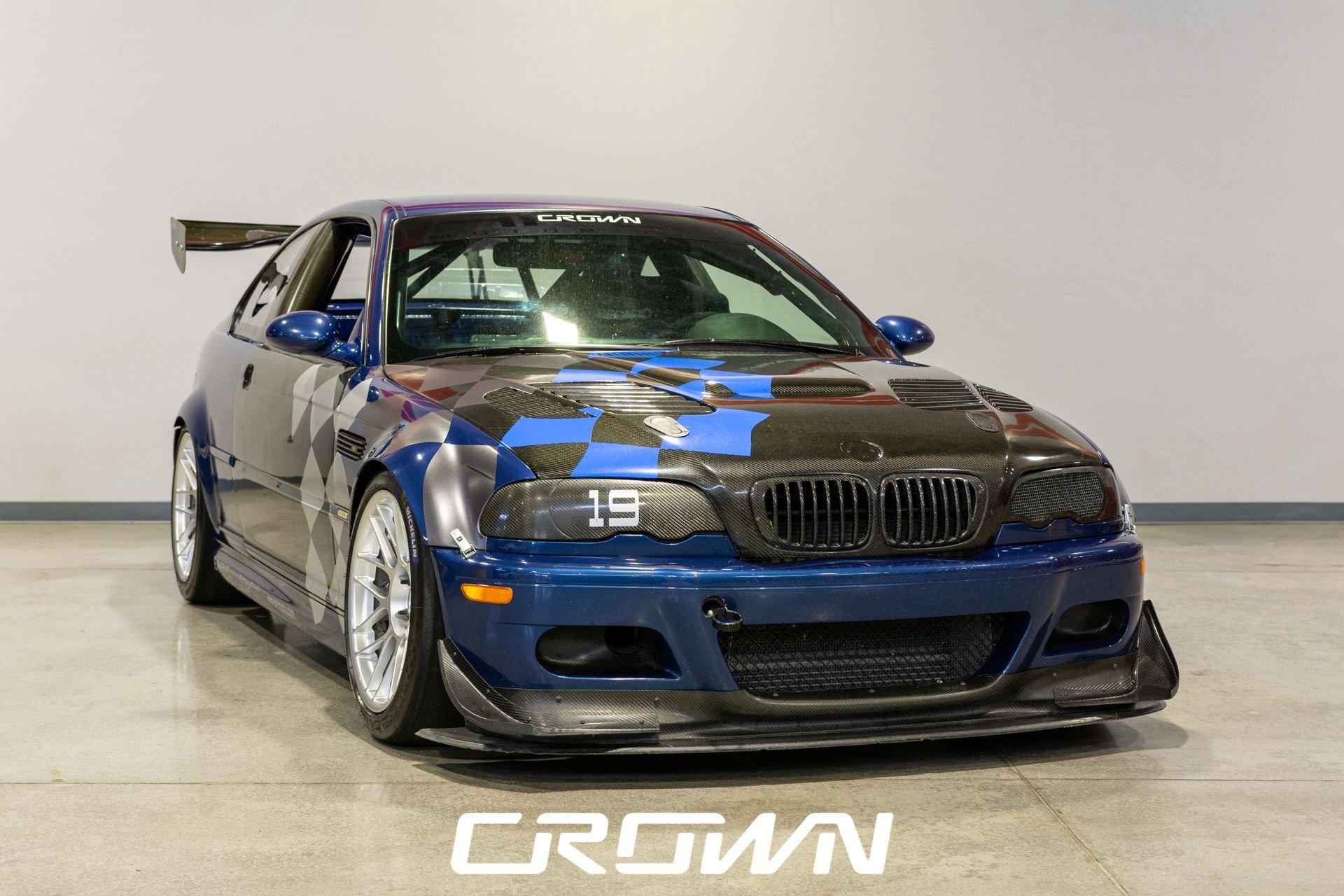 2002 bmw m3 e46 race car