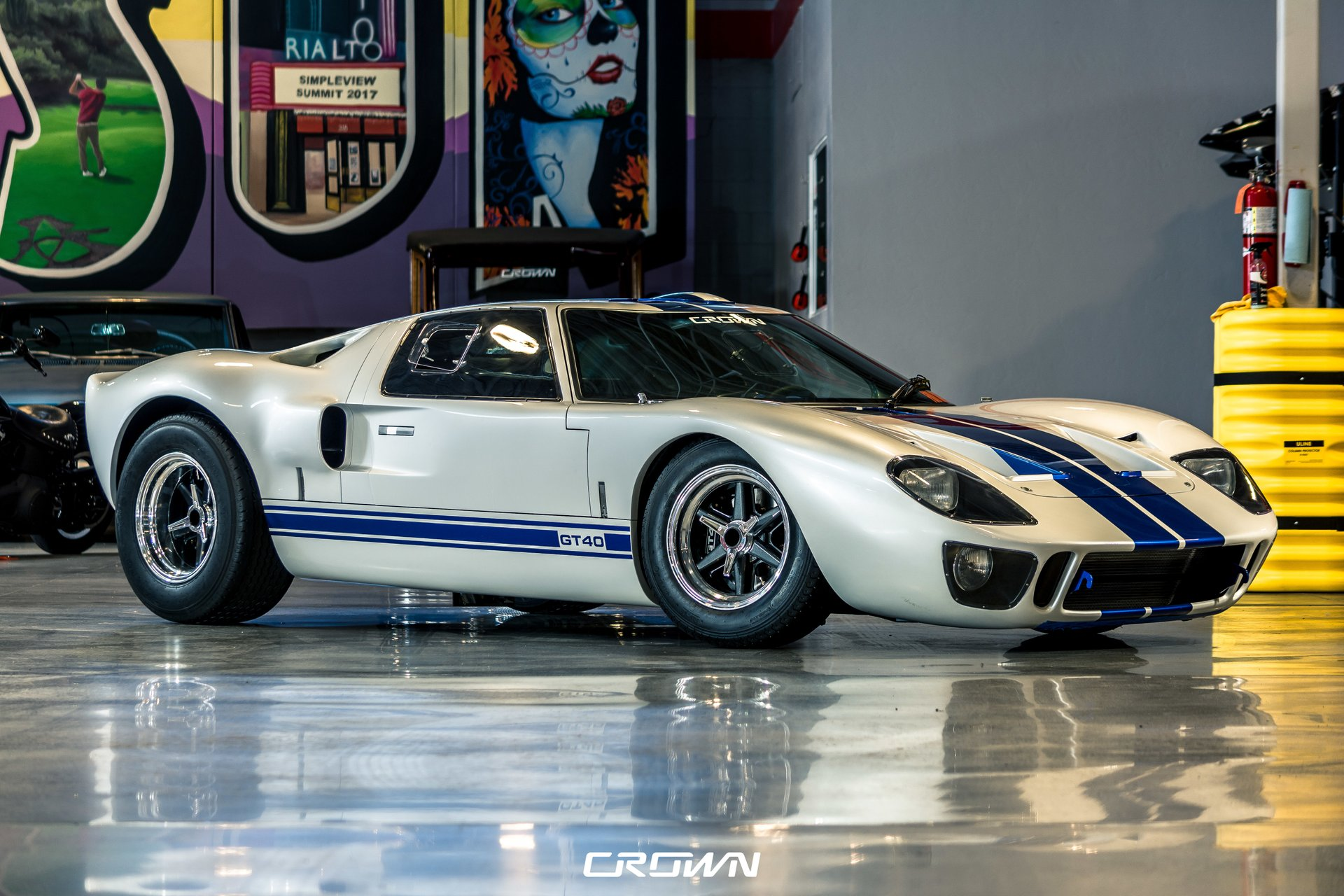 1965 superformance gt40 mki wide body p2367