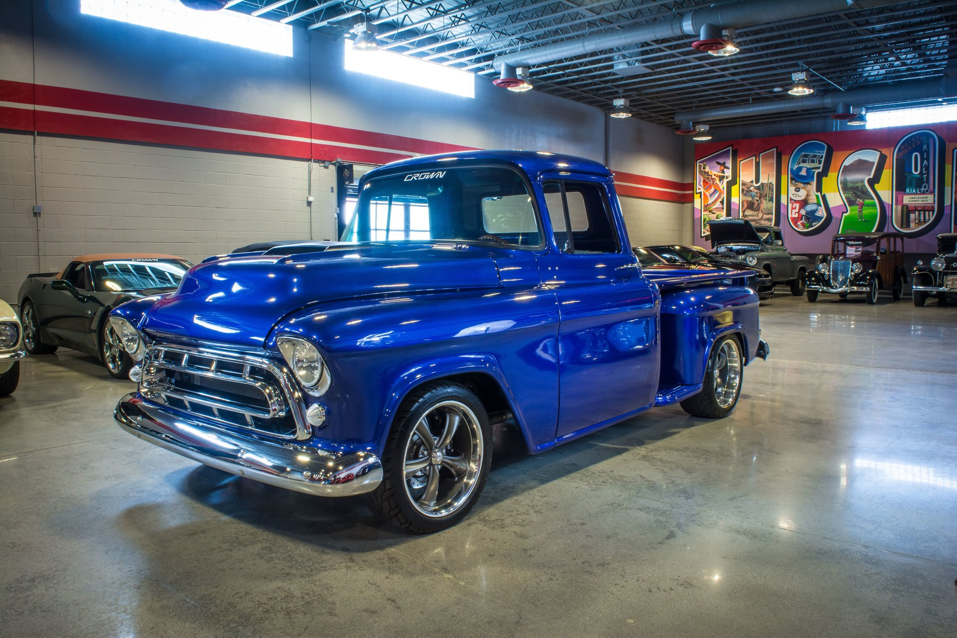 1957 Chevrolet 3100 Crown Concepts Chevy Truck Paint Colors