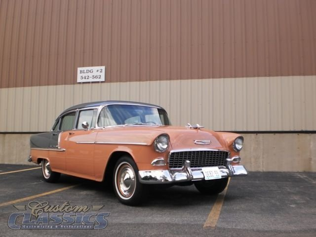 1955 Chevrolet Bel Air For Sale 5312 Motorious