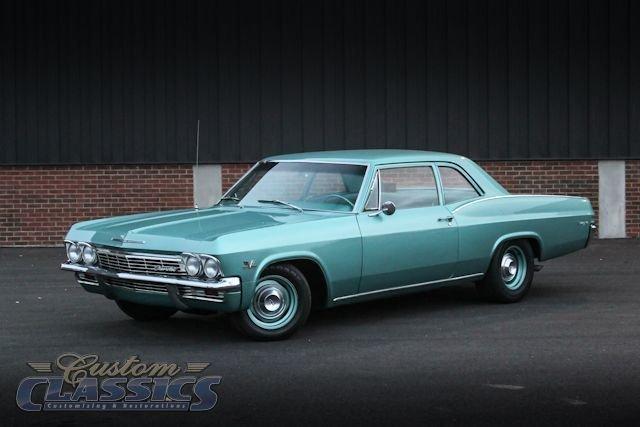 1965 Chevrolet Biscayne   Custom Classics Auto Body and Restoration
