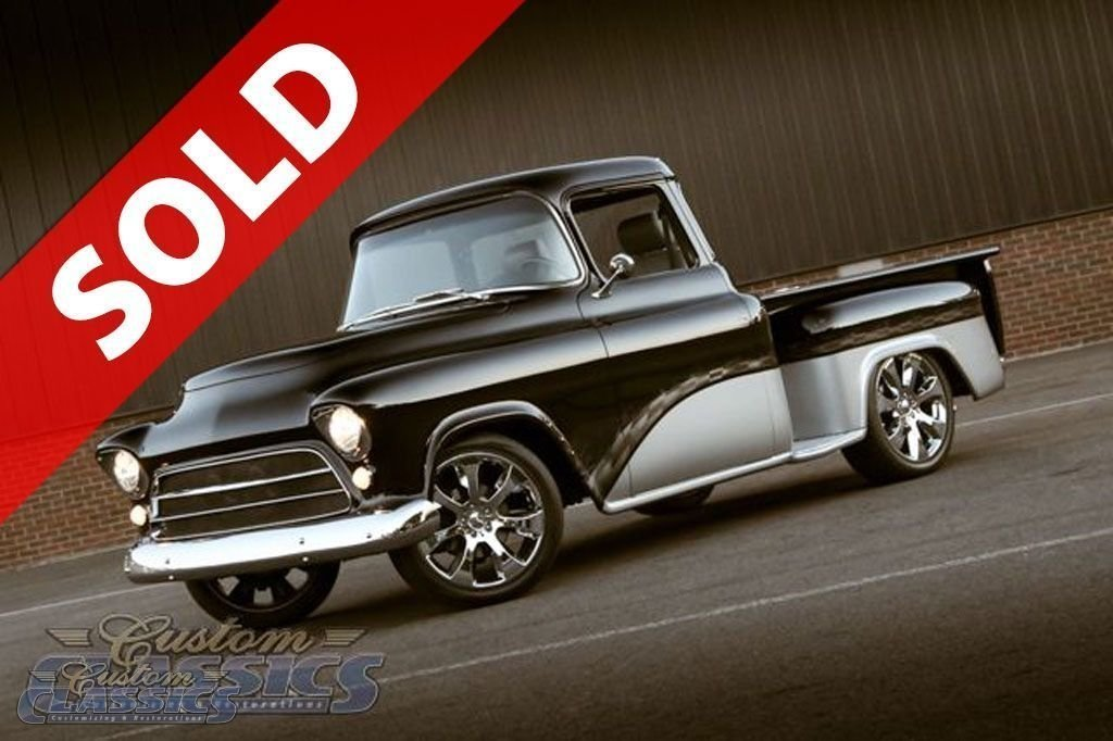 1955 Chevrolet 3100 Custom Classics Auto Body And Restoration