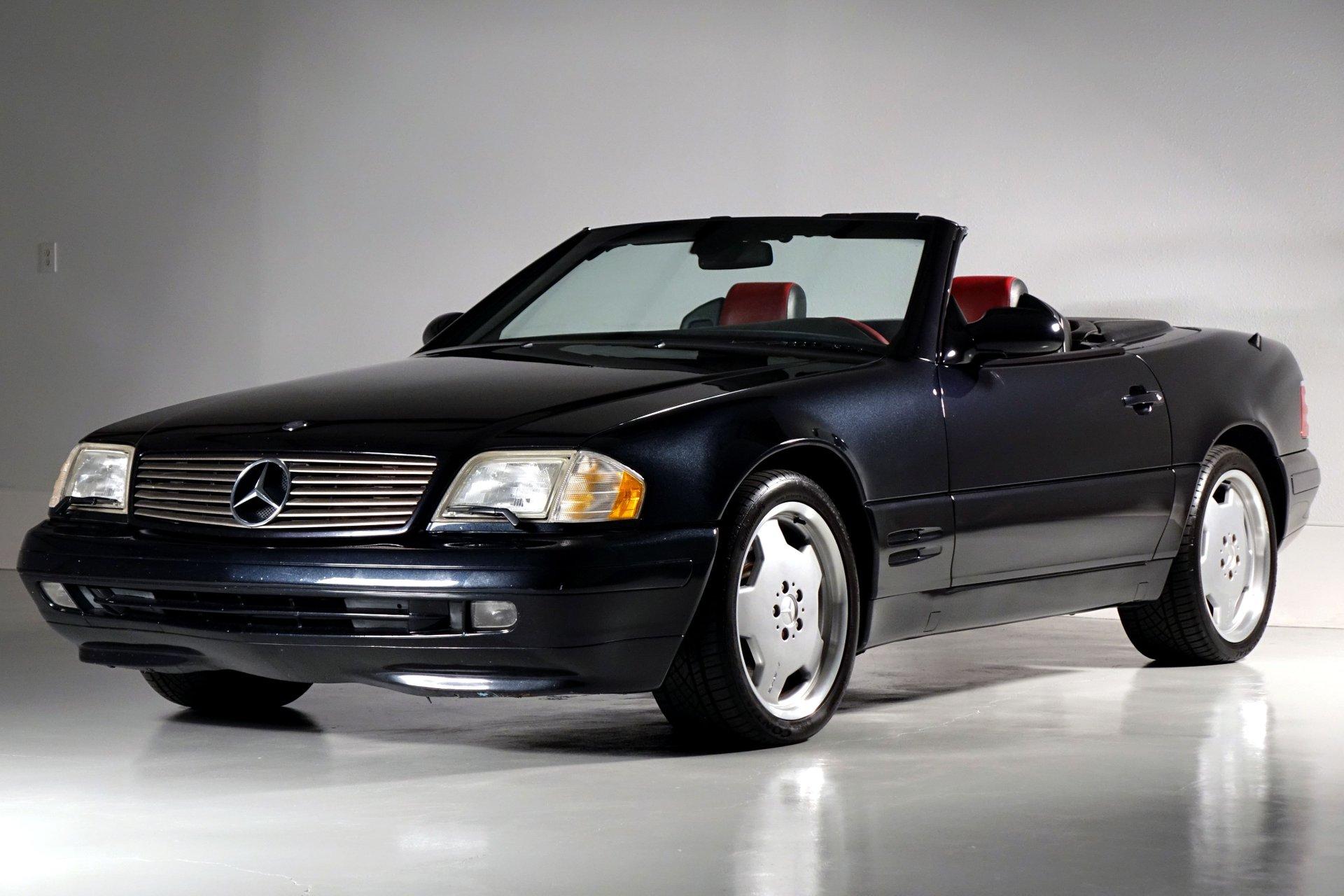 2000 mercedes benz sl class 2dr roadster 5 0l