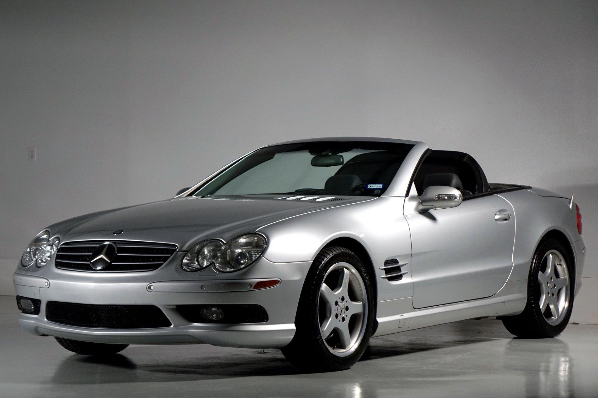 2003 mercedes benz sl class 2dr roadster 5 0l