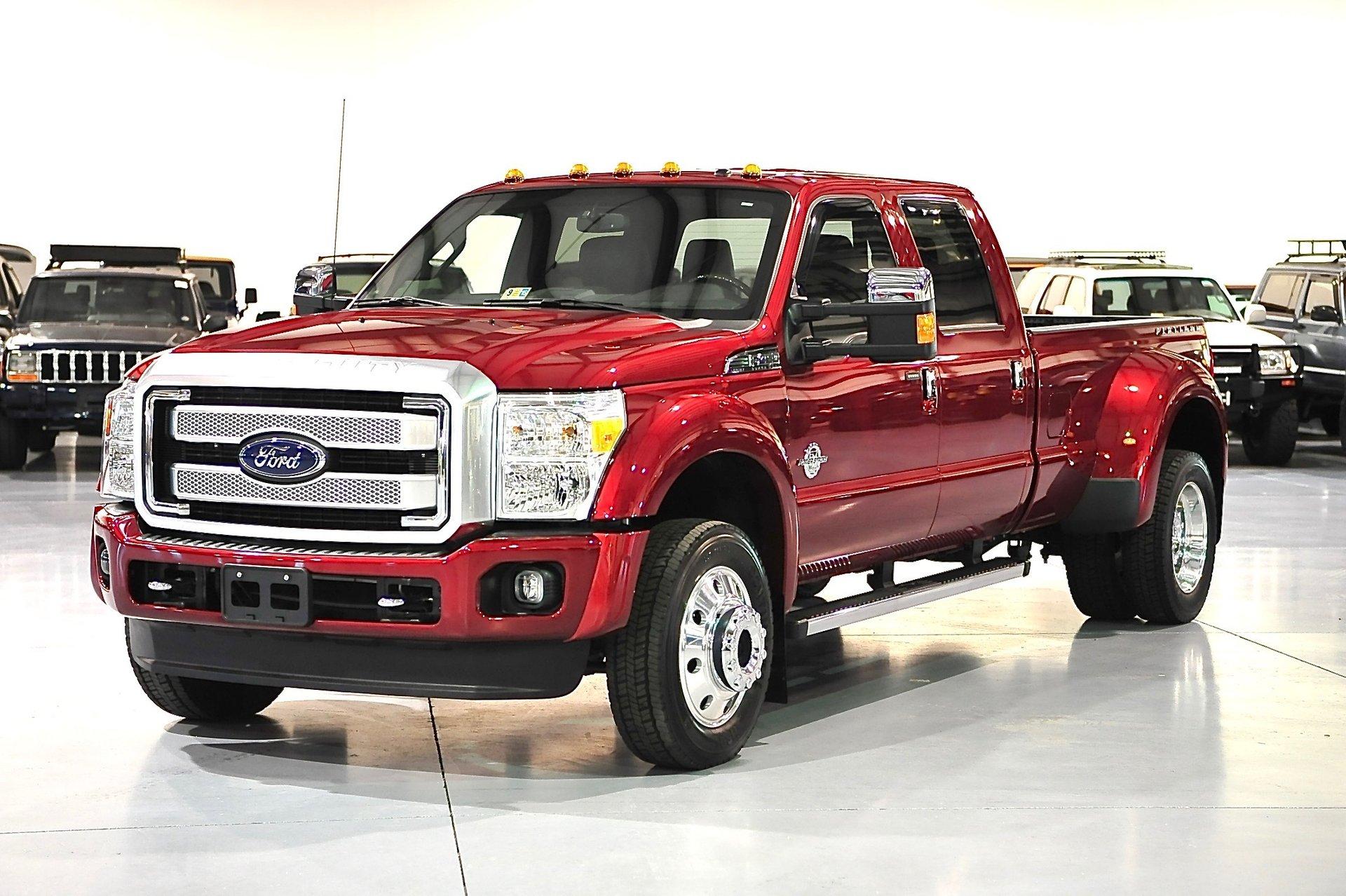 2015 ford super duty f 450 drw platinum