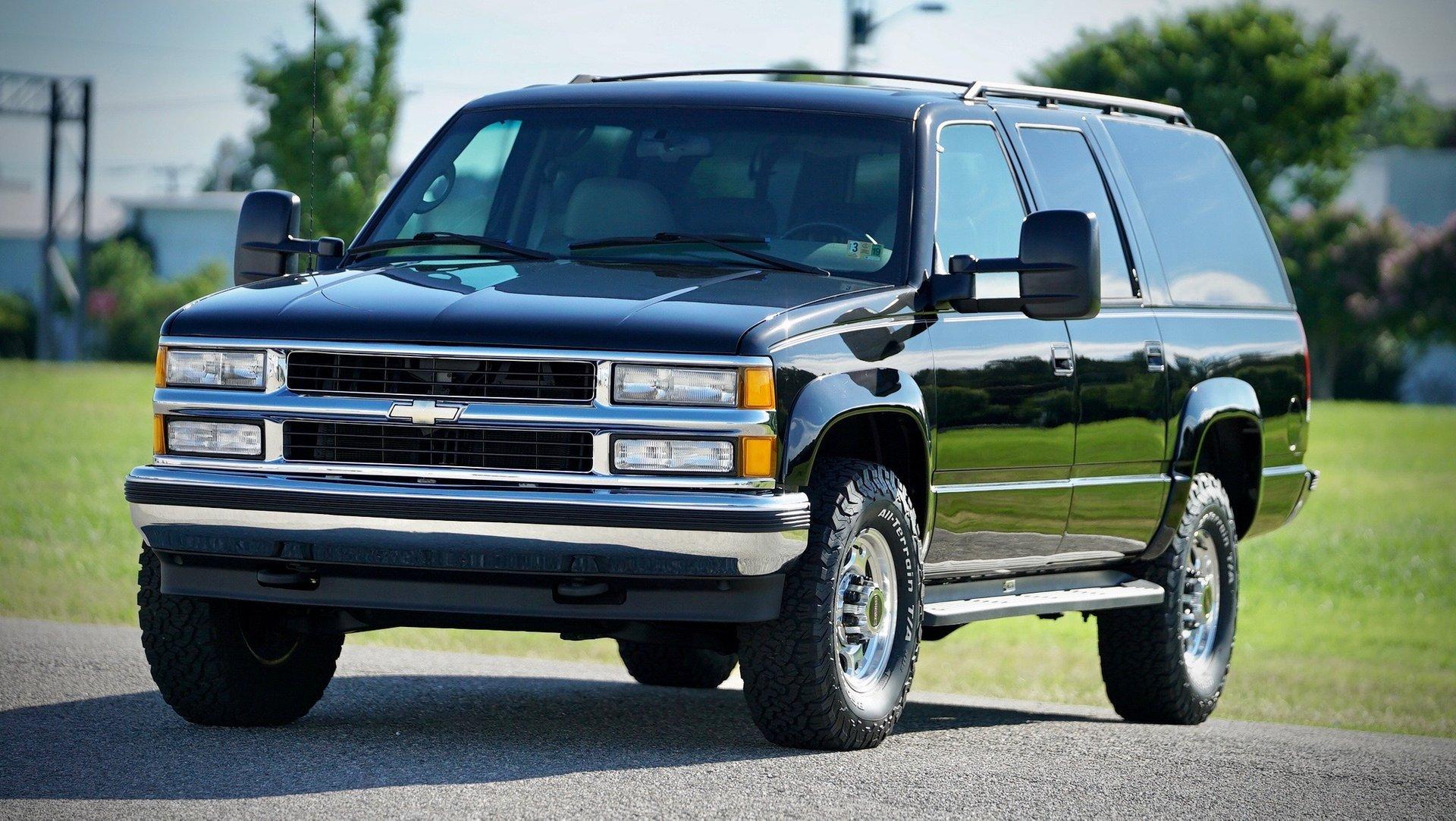 1996 chevrolet suburban 2500 4wd