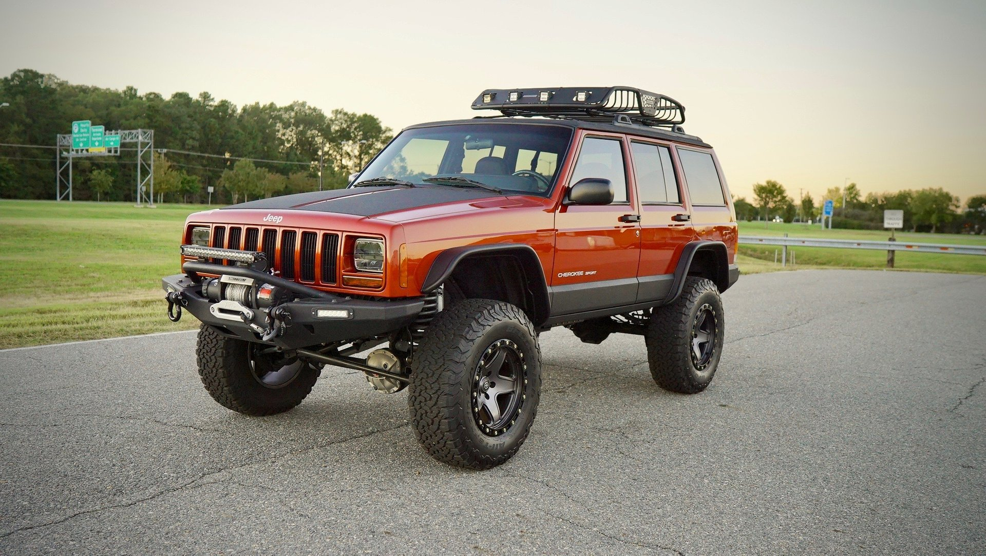 1999 jeep cherokee 4dr sport 4wd