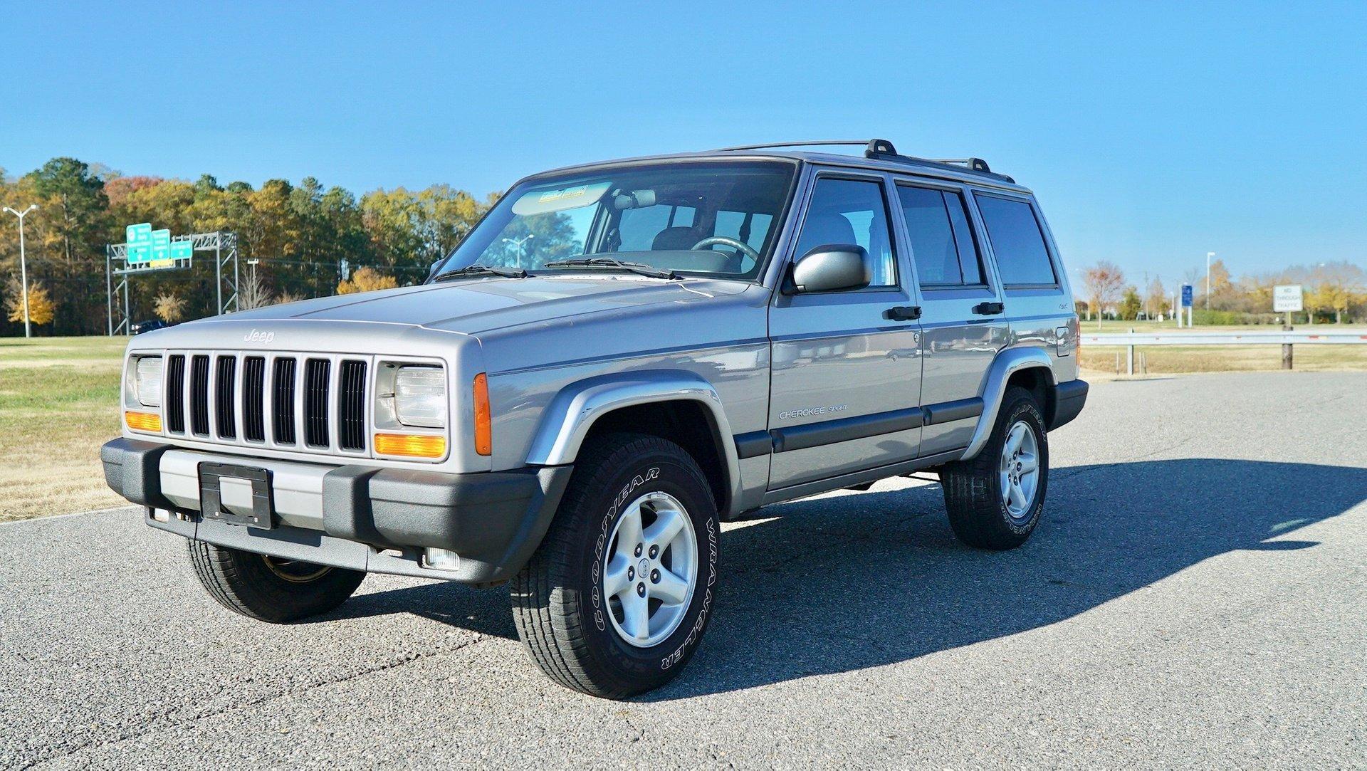 2001 jeep cherokee sport original