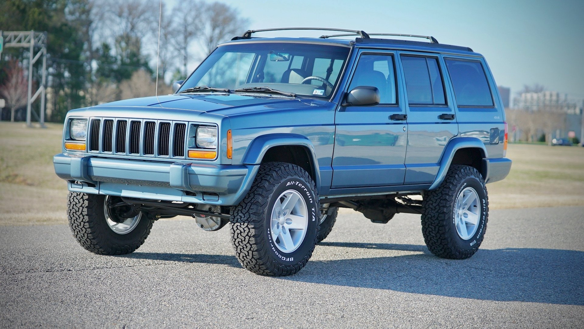 1997 jeep cherokee 4dr sport 4wd