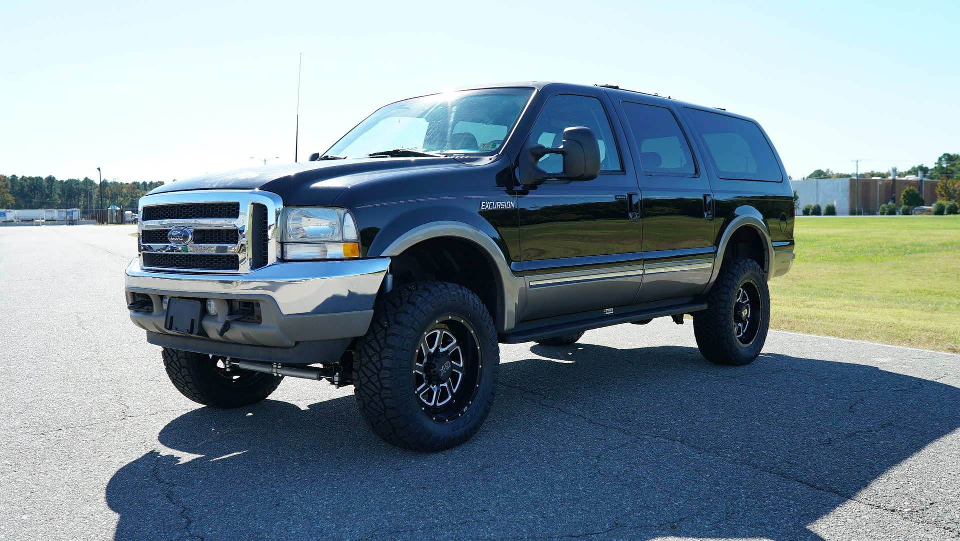 2002 ford excursion 137 wb 7 3l limited 4wd