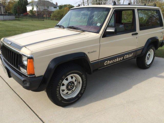 1984 jeep cherokee 4wd cummins diesel chief