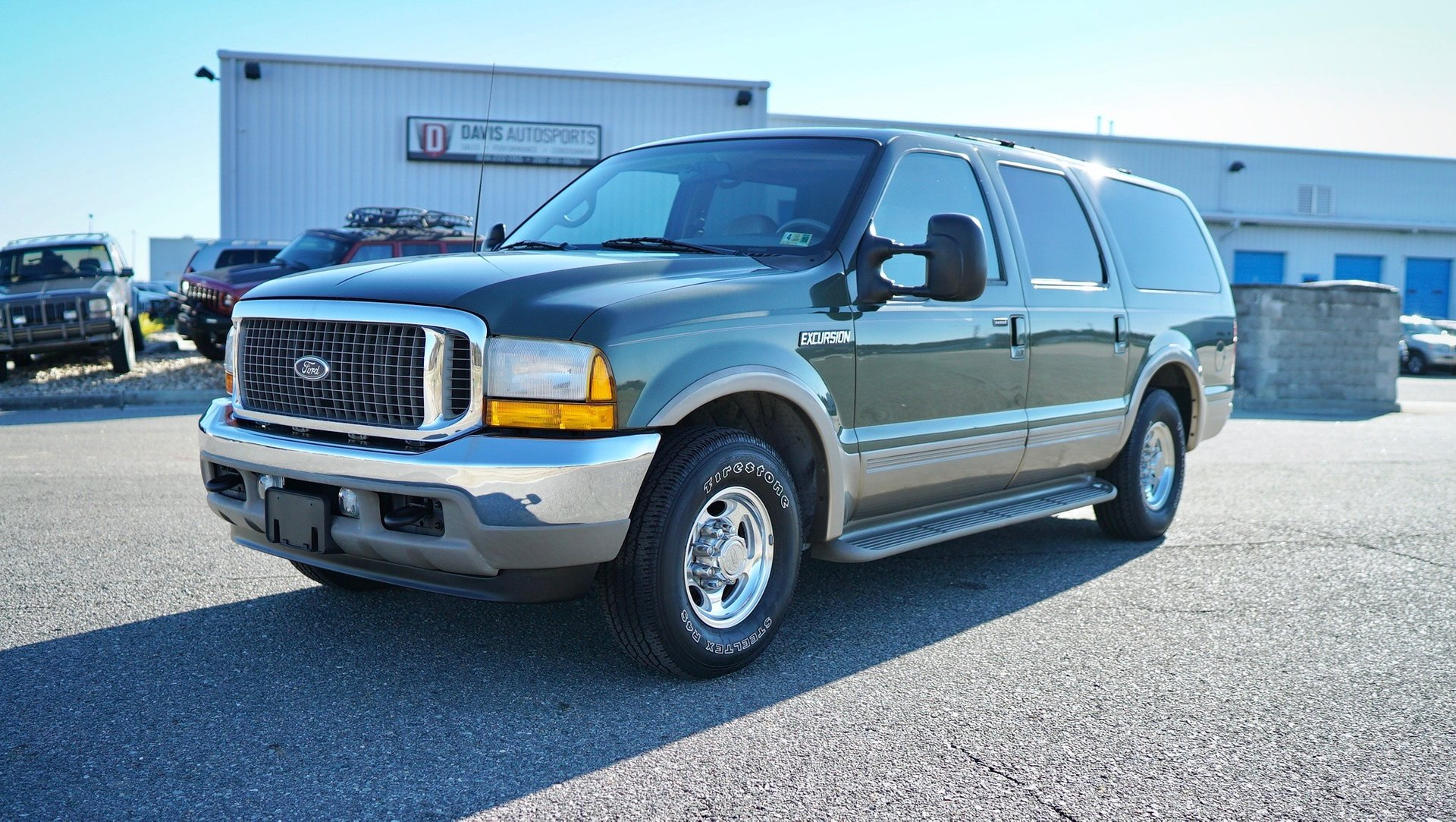 2001 ford excursion 7 3 diesel limited