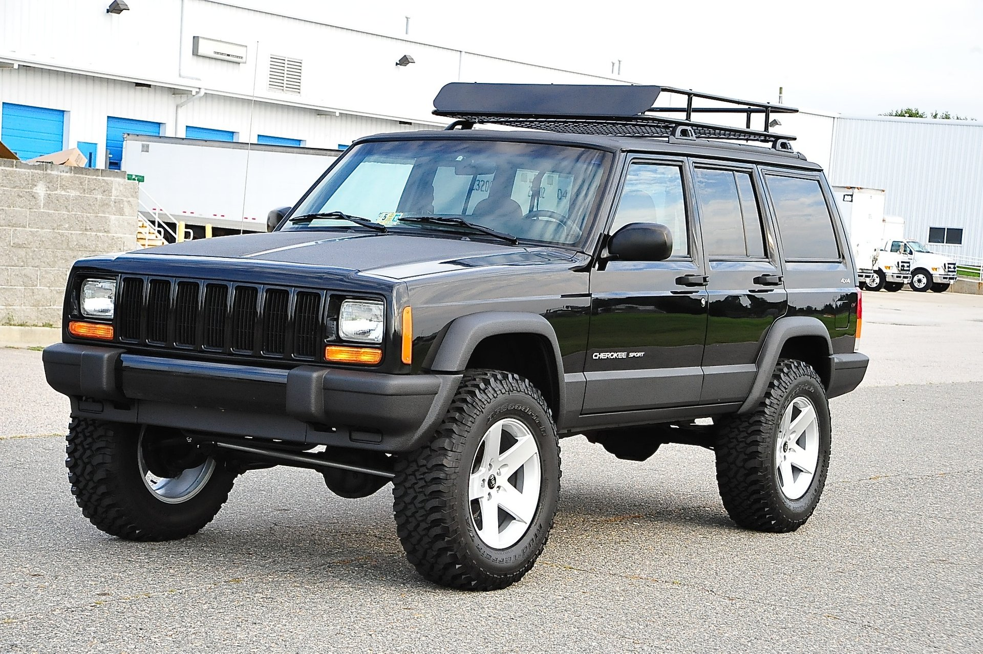2001 Jeep Cherokee 4x4 Sport Ebay
