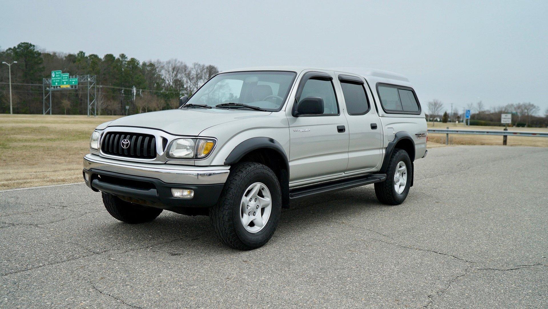 2002 toyota tacoma doublecab v6 auto 4wd natl
