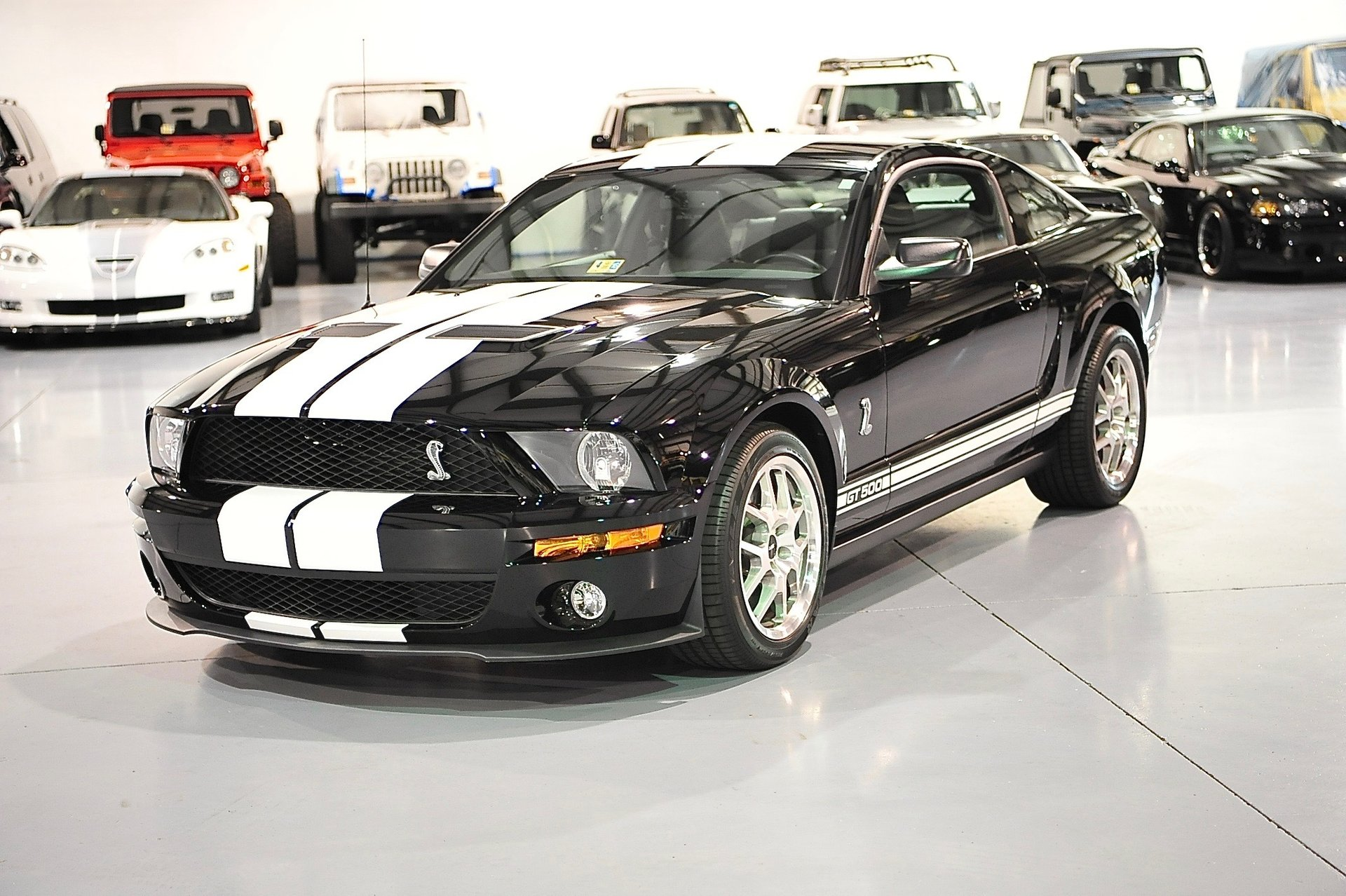 2008 ford mustang 2dr cpe shelby gt500