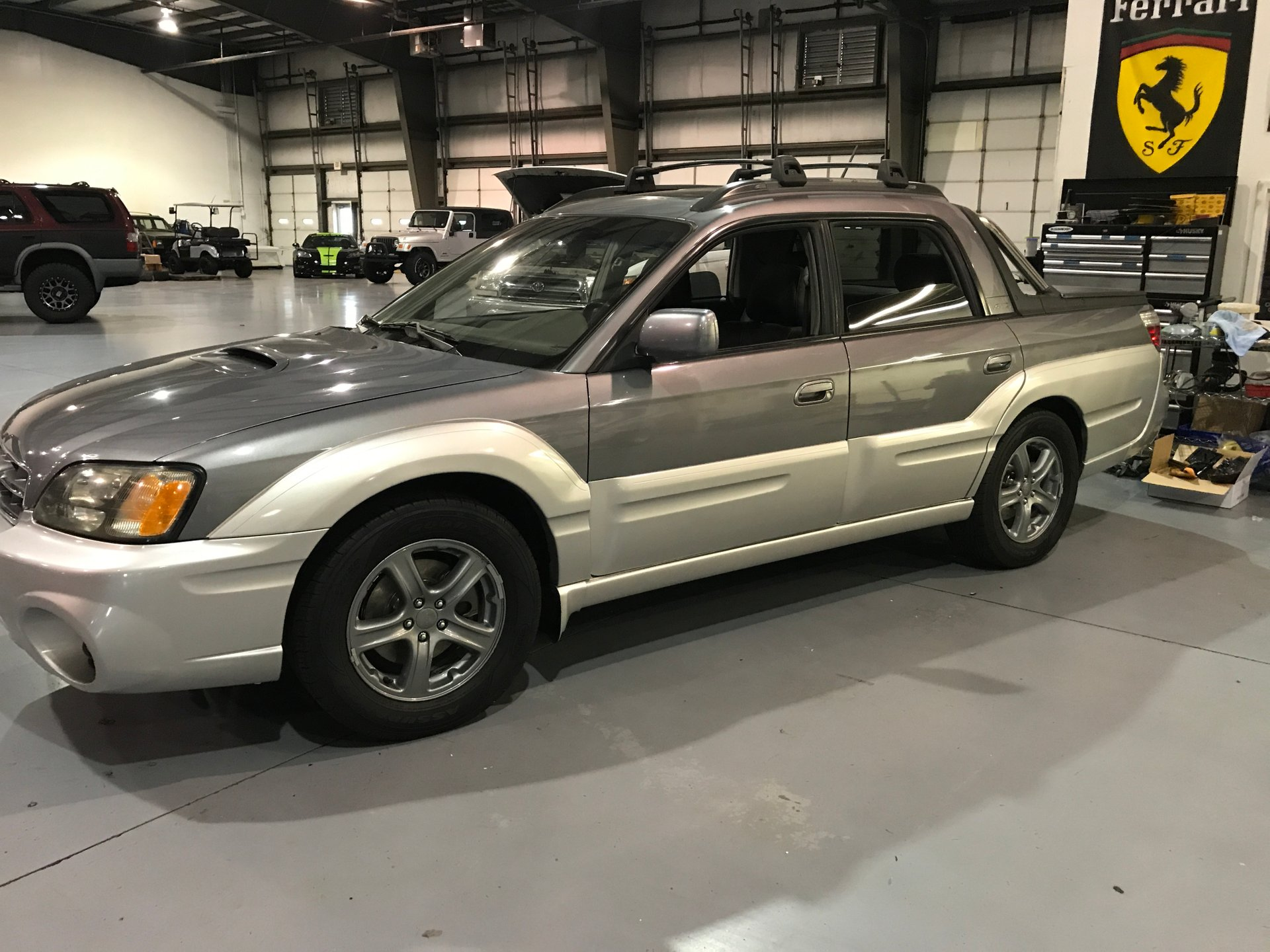 2005 subaru baja natl 4dr turbo manual