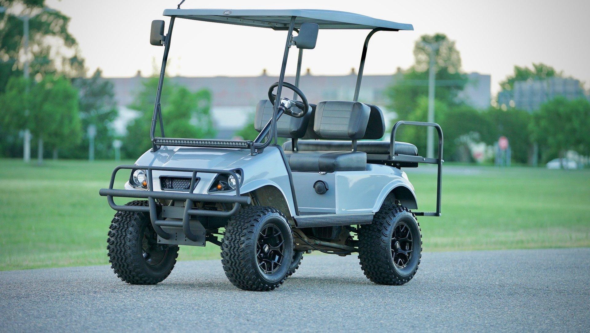 1996 club cart golf cart