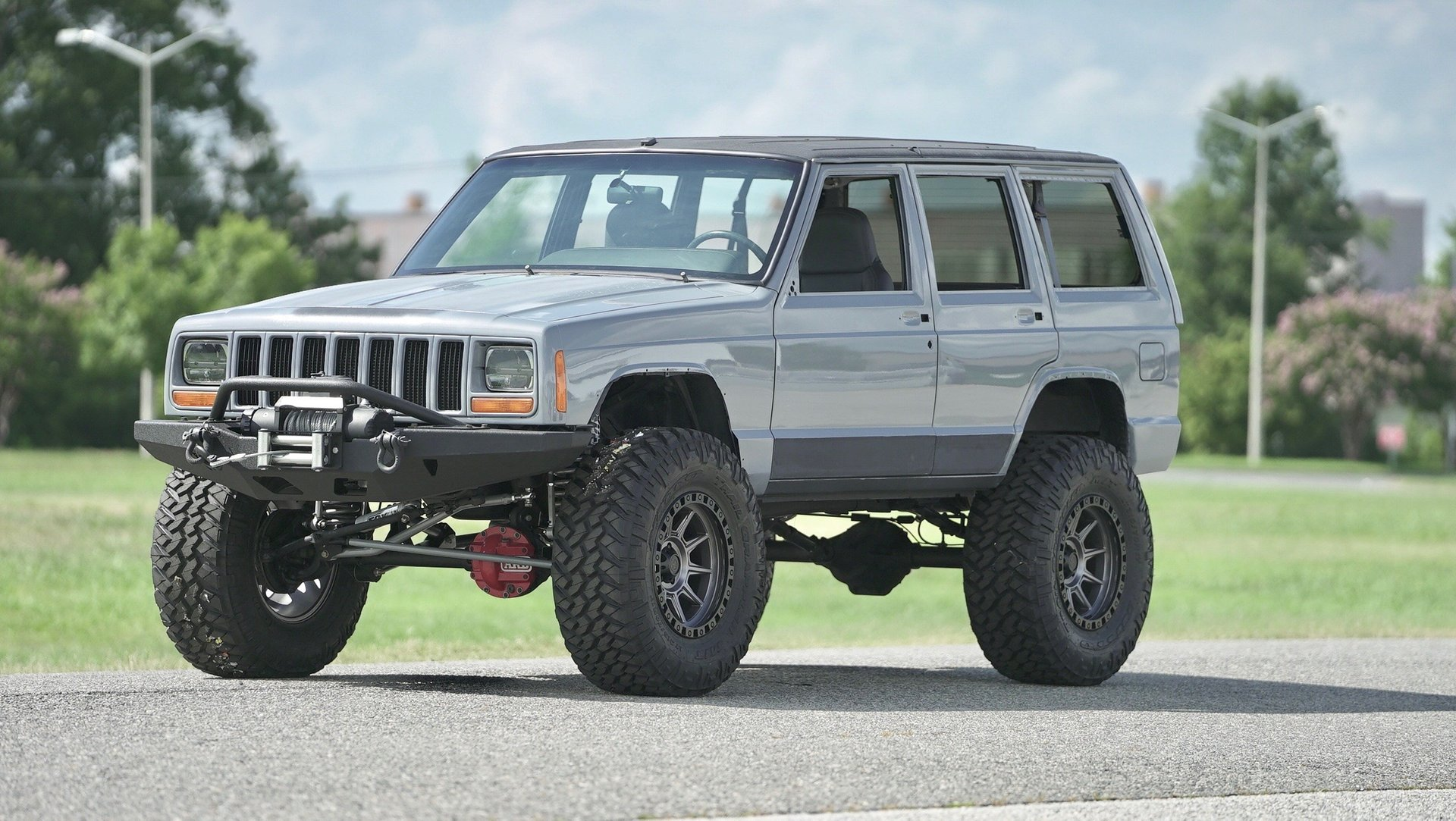 2000 jeep cherokee restored stage 6 build