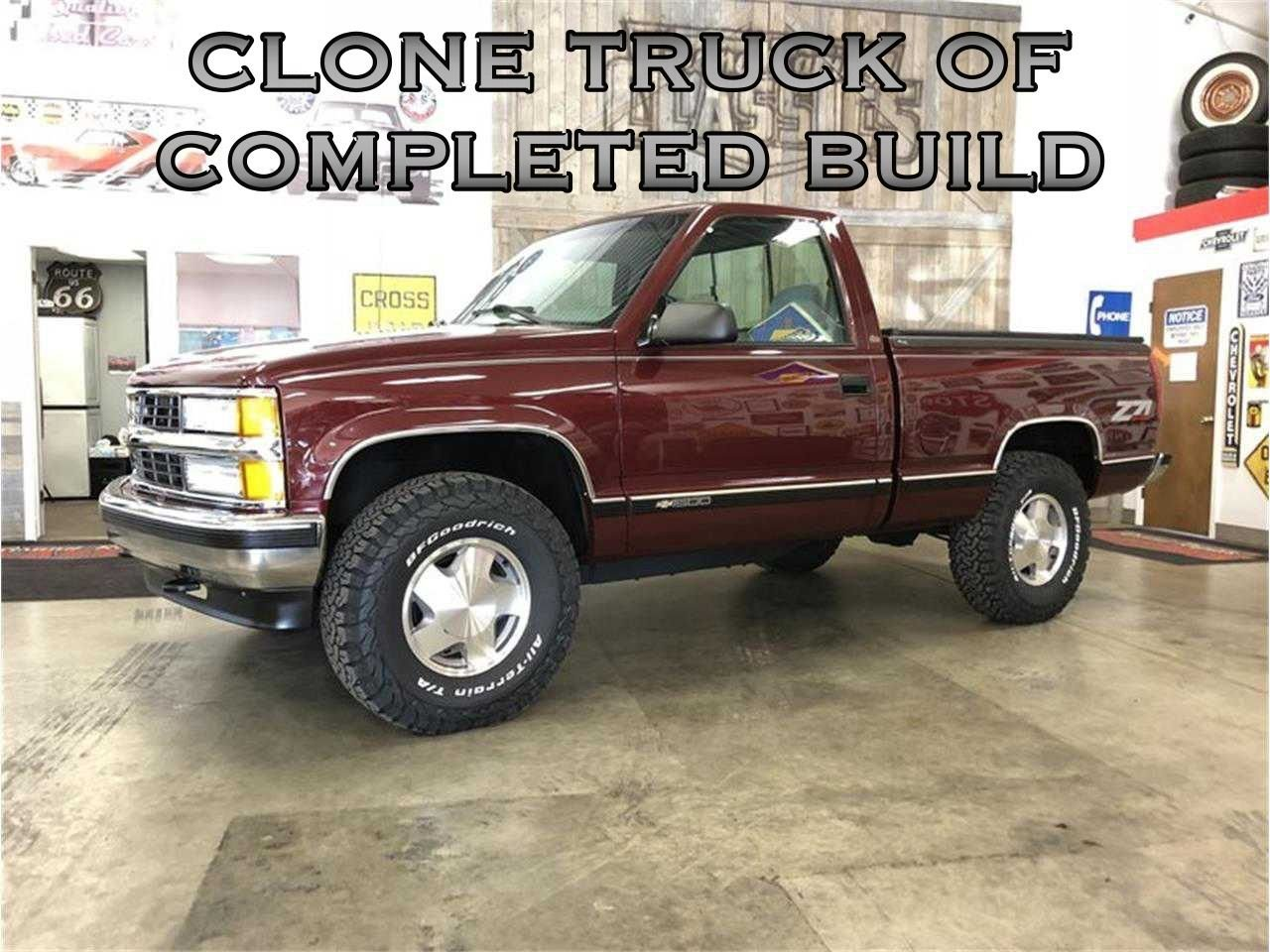 1996 chevrolet silverado fully restored z71 4x4