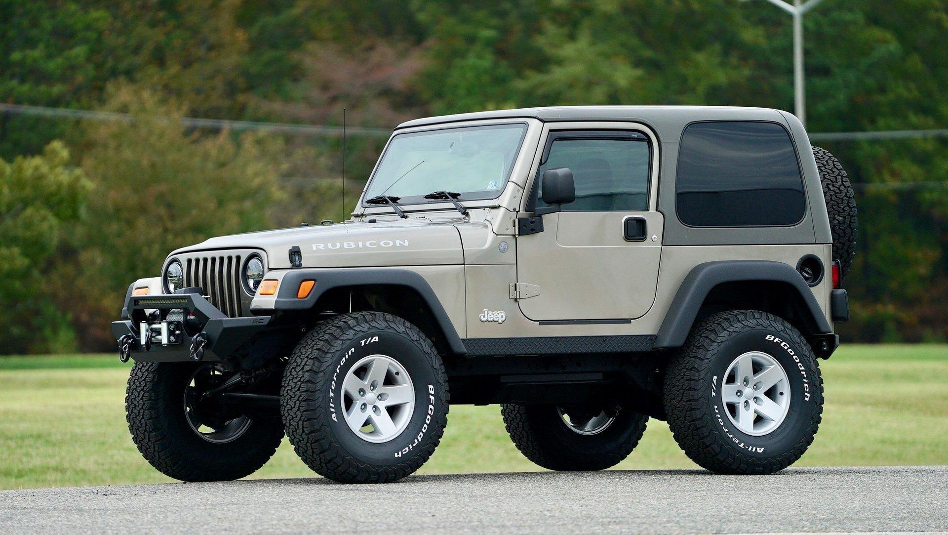 2004 jeep wrangler 2dr rubicon