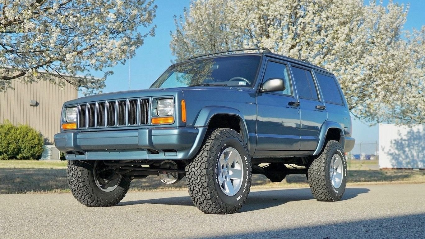 1999 jeep cherokee fully restored stage 2