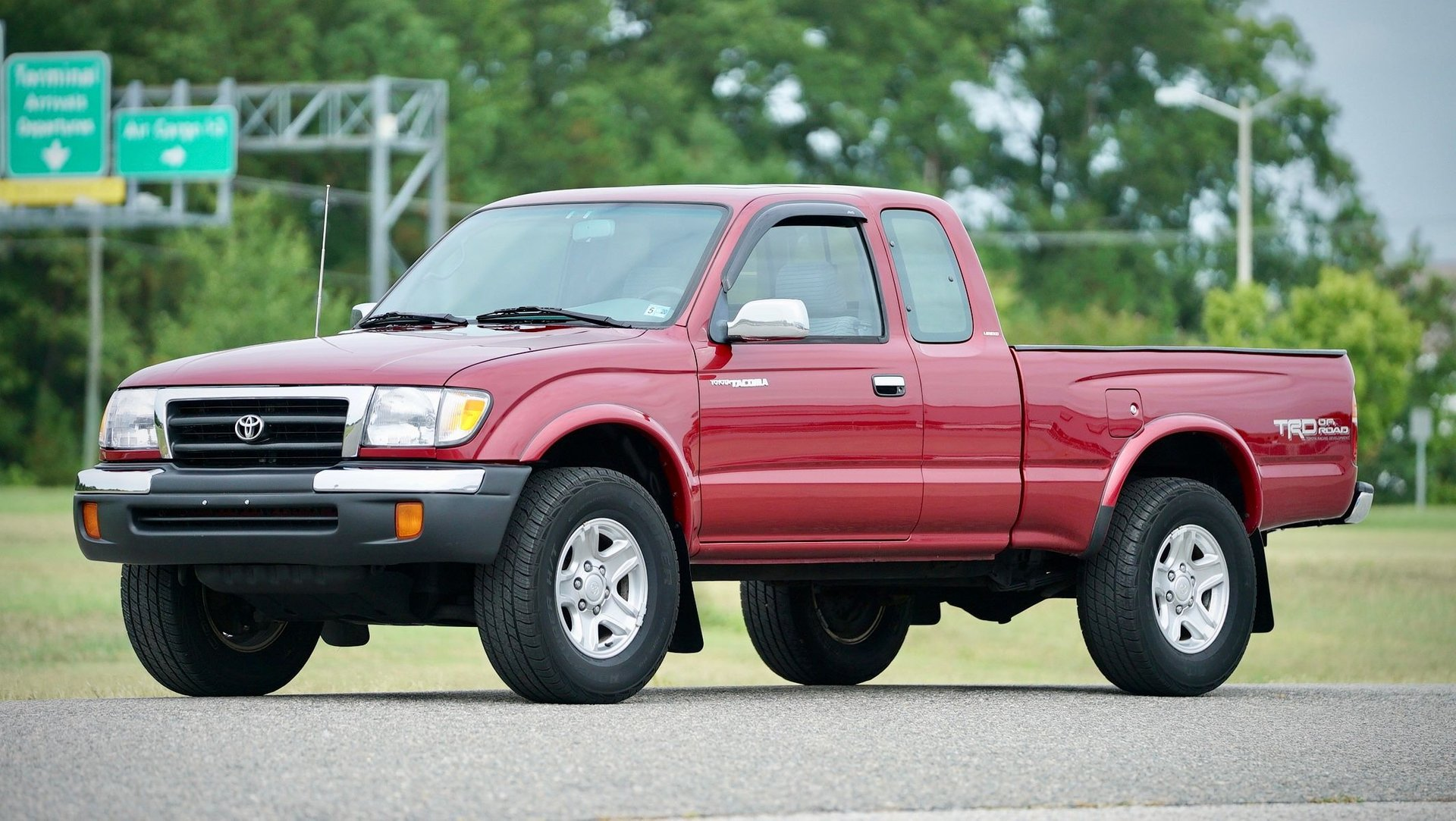 1998 toyota tacoma limited trd 4x4 xcab 5 speed