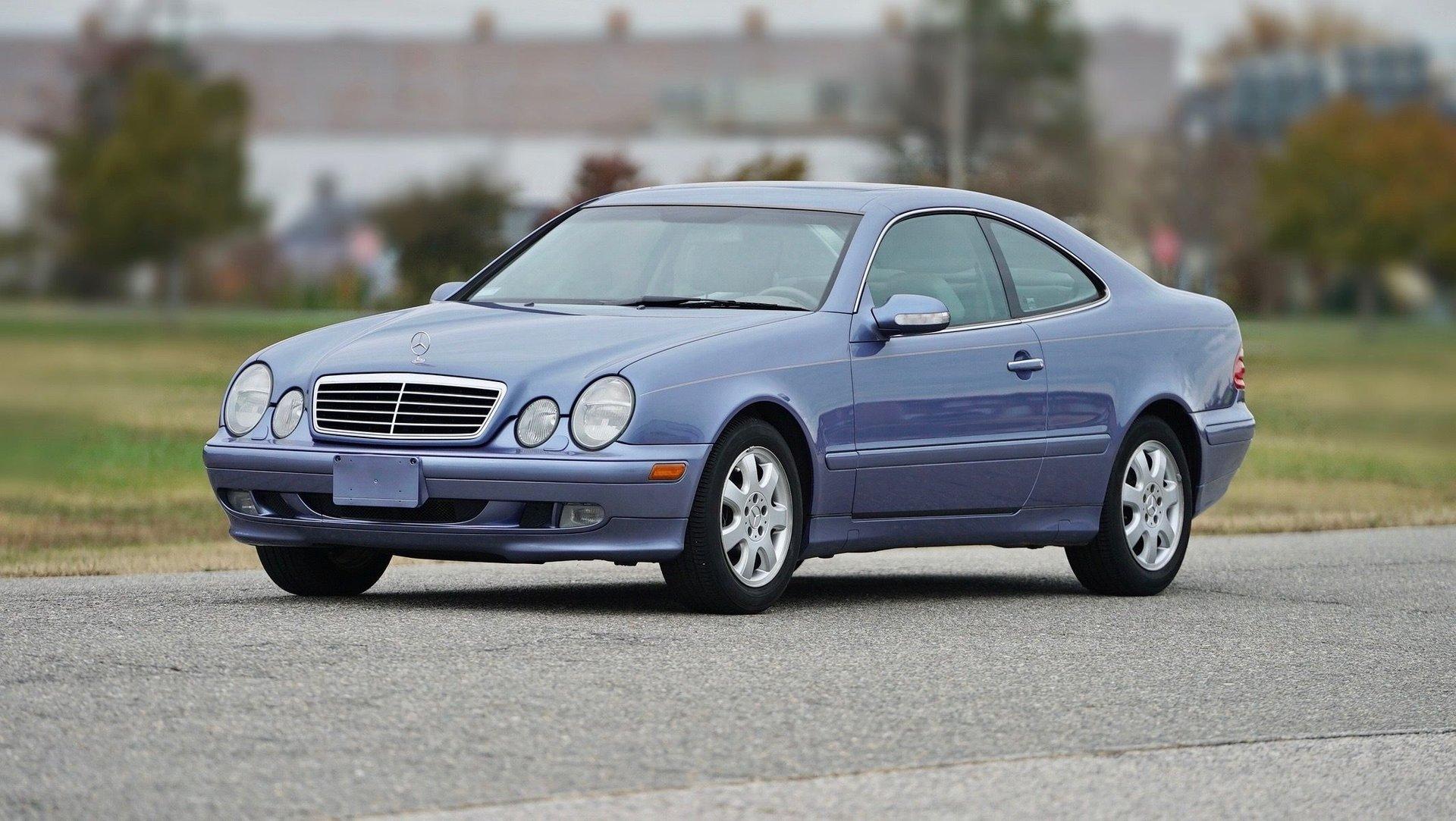 2002 mercedes benz clk class 2dr coupe 3 2l