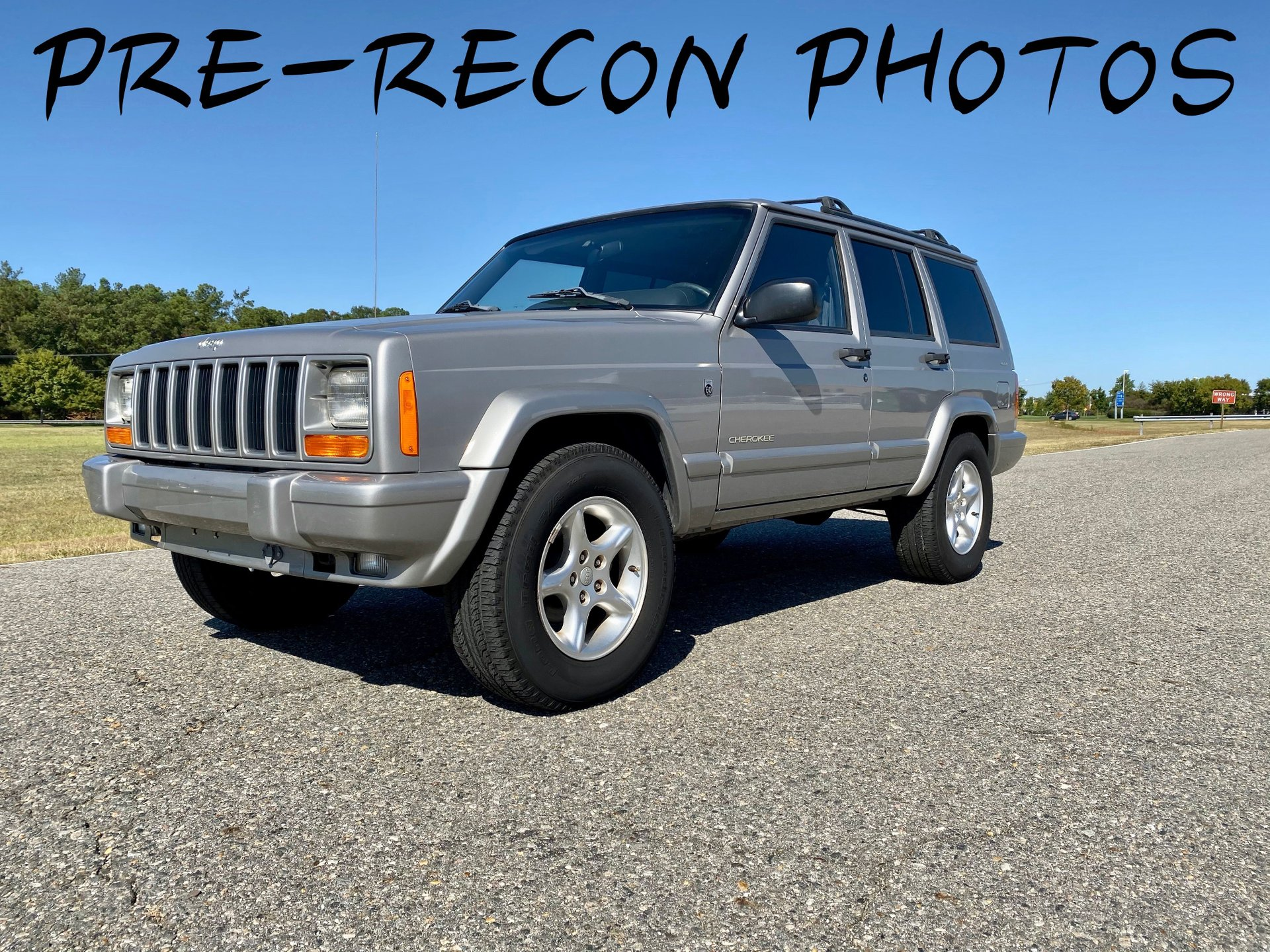 2001 jeep cherokee 60th ann