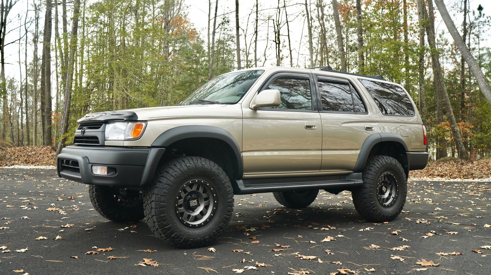 2002 toyota 4runner restored and built