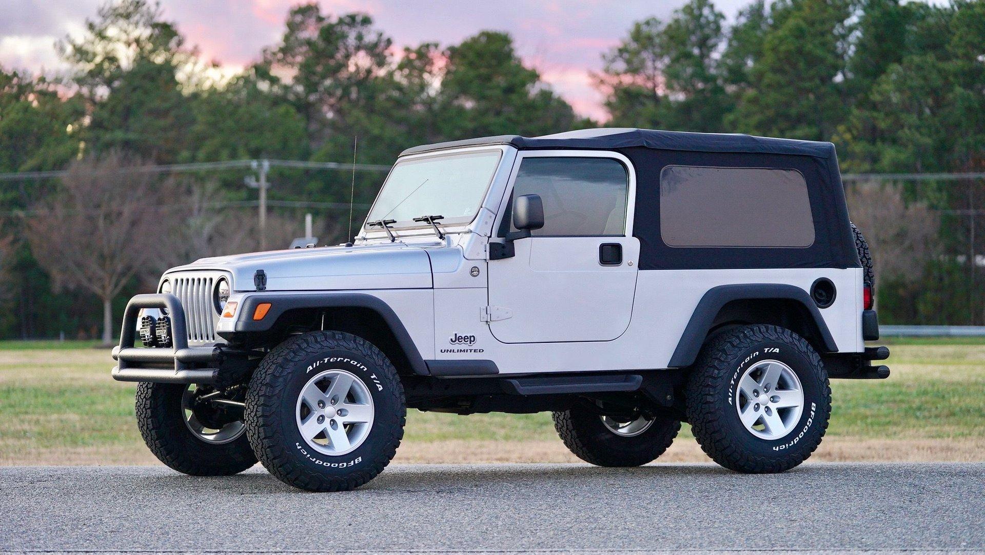 2005 jeep wrangler unlimited lj