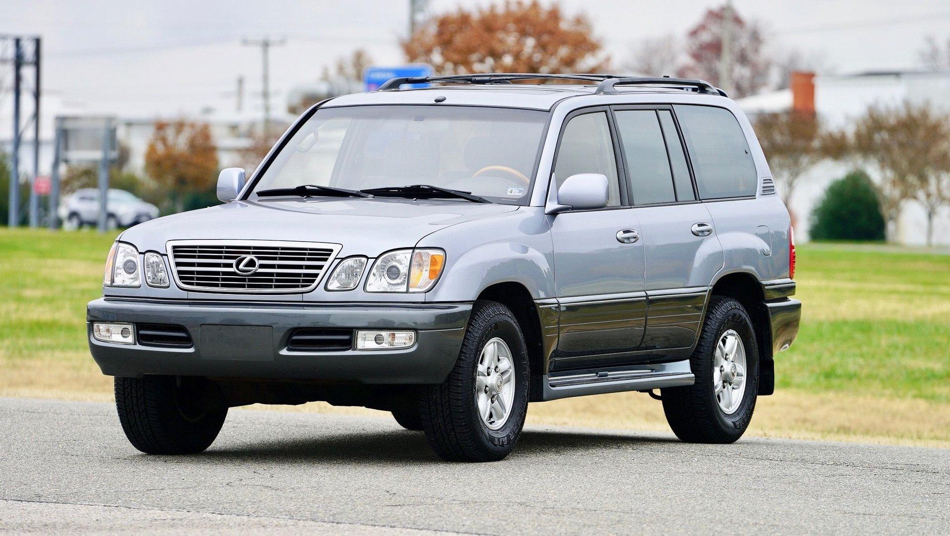 2002 lexus lx 470 4dr suv