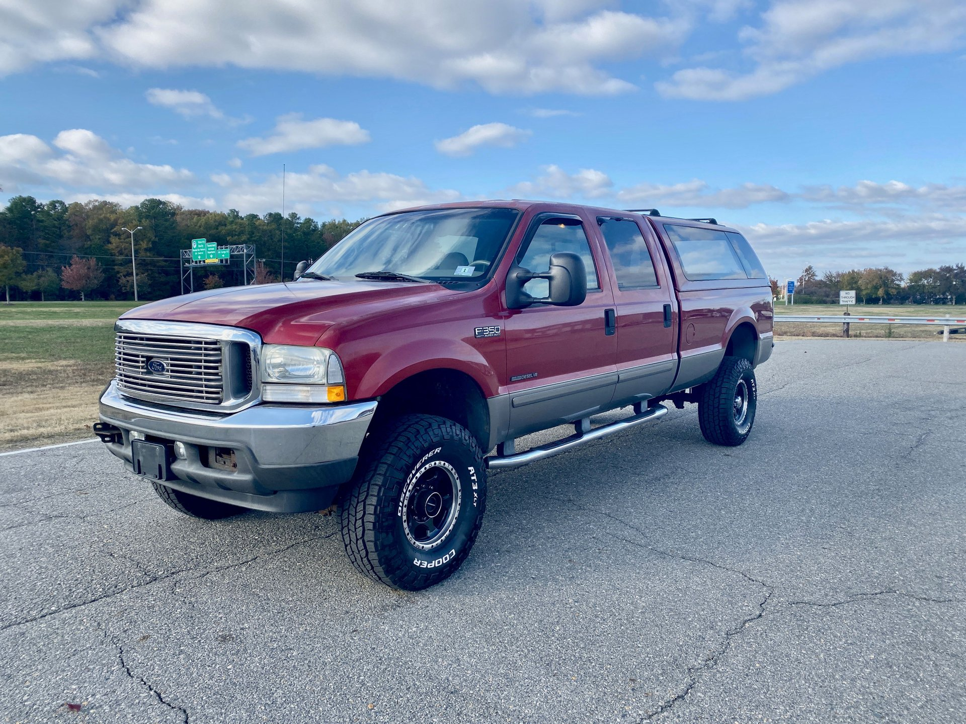 2002 ford super duty f 350 srw crew cab 156 xl 4wd