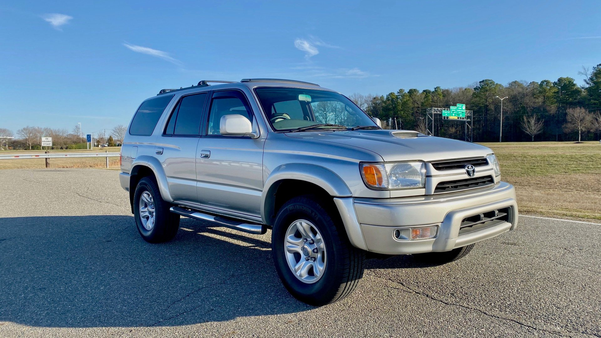 2001 toyota 4runner restored sport edition