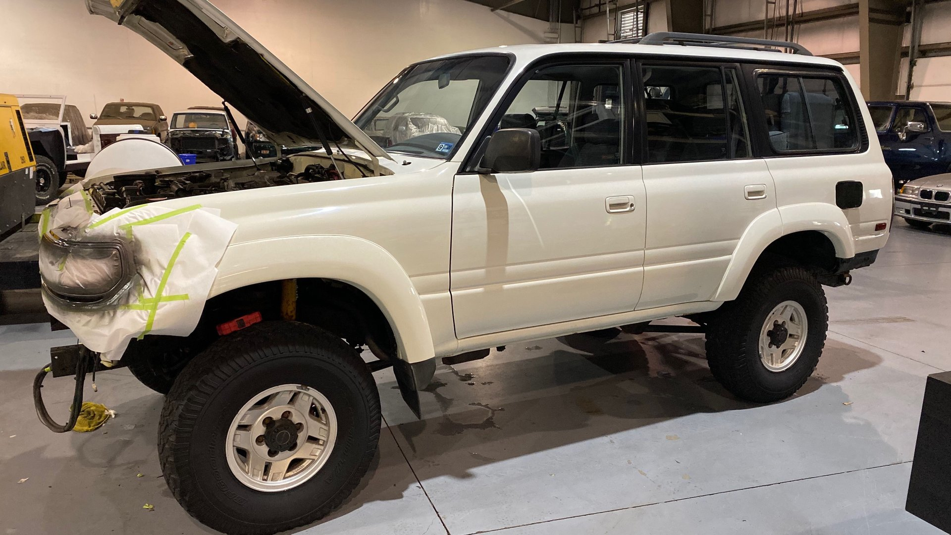 1991 toyota land cruiser 4dr wagon