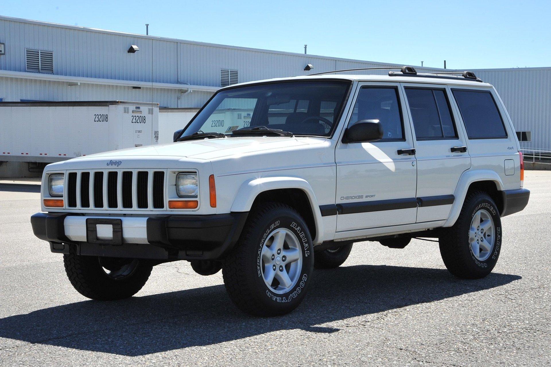 2001 jeep cherokee original
